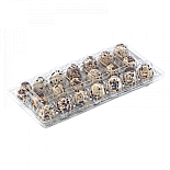 Tray for 20 quail eggs (rectangular)