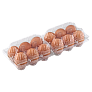 Plastic chicken egg trays 12  keys trays (6х2) slider-block3