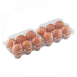 Tray for 12 chicken eggs (6х2)