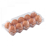 "Tray for 10 chicken eggs    ""2 towers"""