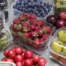 Купить Plastic packaging for vegetables, fruits and berries в Украине