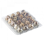 Tray for 20 quail eggs (square)